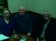 Breda Burke,  Bernie Powell and Joe Kirwan